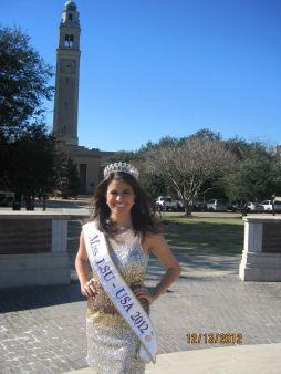 Miss LSU-USA 2012, Elizabeth Connor