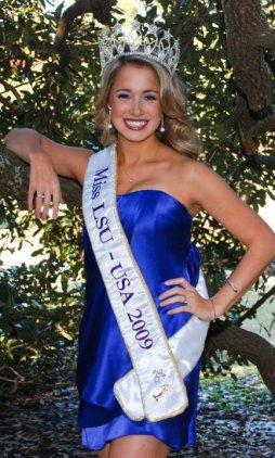 Miss LSU-USA 2009, Ainsley Beeman