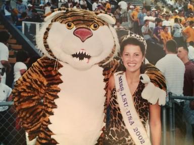 Miss LSU-USA 2002, Courtney Tatman Waguespack